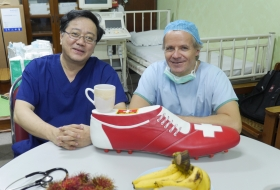 2014; Prof. Paul Vogt and Prof. Khin Lwin from Myanmar and BigShoe mission 2014