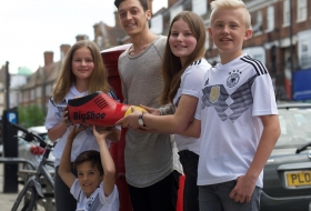 2018; Kick of BigShoe Arena 2018 with Mesut Özil and BigShoe Kids open BigShoe Arena 2018