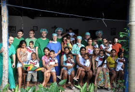 2014; Eleven Children ; with familie and volunteer medical doctors from Interplast and operated in Coroata; Brazil