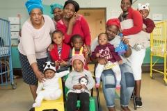 2018; part of the 11 world cup winner children in Tygerberg hospital