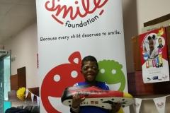9 year old Sibabalwe Mpingelwani and BigShoe _ Smile Foundation